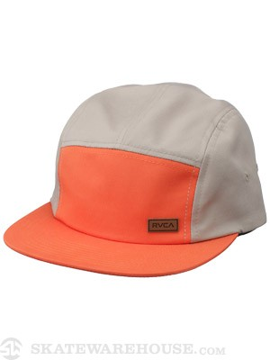 RVCA Market 5-Panel Hat Chili/CL Adjust