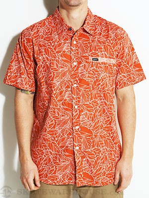 RVCA Make Like A Tree S/S Woven Chili/CHL LG