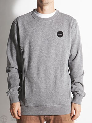 RVCA Motors Patch Crew Sweatshirt Athletic SM
