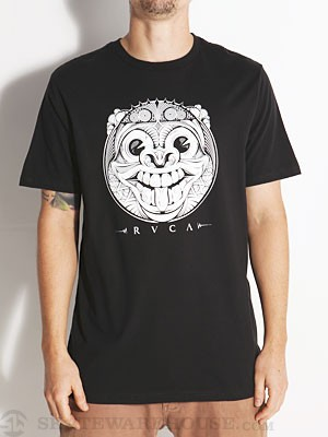 RVCA Mask Tee Black XL