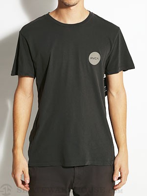 RVCA Motors Crest Tee Black/CNE XL
