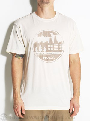 RVCA Nature Industry Stamp Tee Almond Tea/ALT SM