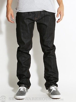 RVCA New Normal Denim Jeans Rigid Indigo 28