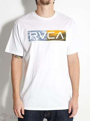 RVCA Polar Opposite Tee White XL