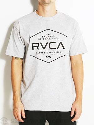 RVCA Pure Tee Athletic Heather SM