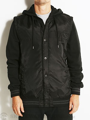 RVCA Puffer Stadium Jacket Black SM