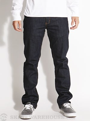 RVCA Regulars II Denim Jeans Deep Indigo/DIN 28