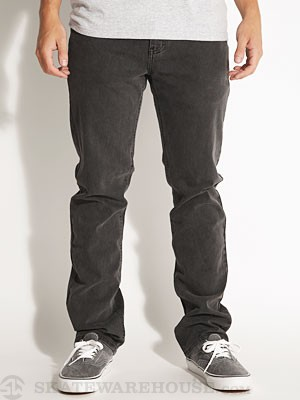 RVCA Regulars II Denim Jeans Faded Black/FBK 28