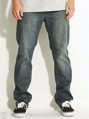 RVCA Regular Extra Stretch Denim Dusty Blue 28