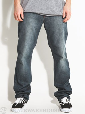 RVCA Regulars Extra Stretch Faded Blue/FDB 28