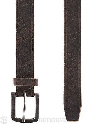 RVCA Rustica Belt Brown LG/XL
