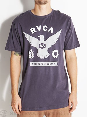 RVCA Flight Tee Navy/NVY XL