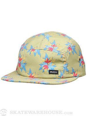 RVCA Scamp 5-Panel Hat Green/GMS Adjust