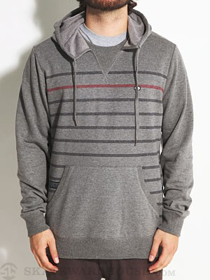 RVCA Steady Pullover Hoodie Grey Noise/GRS MD