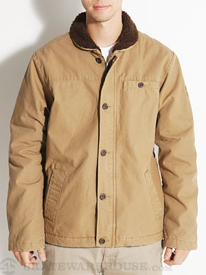 RVCA Sherpo Jacket Antique Bronze SM