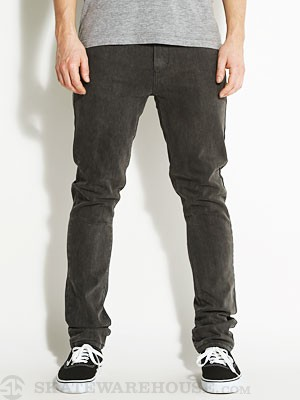 RVCA Spanky Denim Jeans Faded Black 28