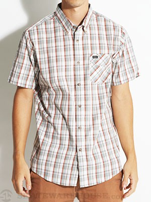 RVCA Sundown S/S Woven Shirt White/VWT MD