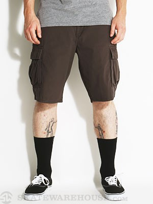 RVCA Trafficker Cargo Shorts Coalmine/CNE 28