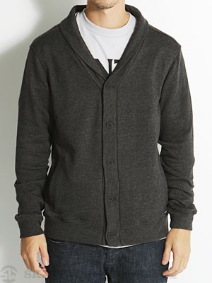RVCA Tappy Cardigan Sweater Black/BHE XL