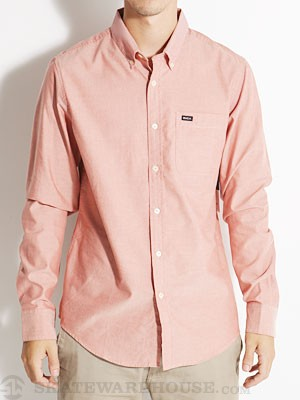 RVCA That'll Do Oxford L/S Woven Bossa Nova MD