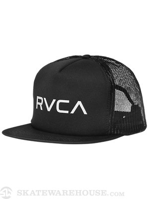 RVCA The RVCA Trucker II Hat Black Adj.