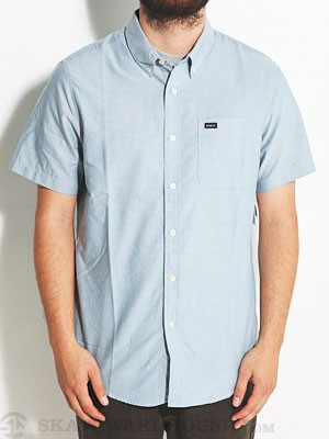RVCA That'll Do Oxford S/S Shirt Aegean/AGB XXL