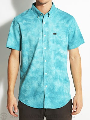 RVCA That'll Do Tye Dye S/S Woven Blue/SOL SM