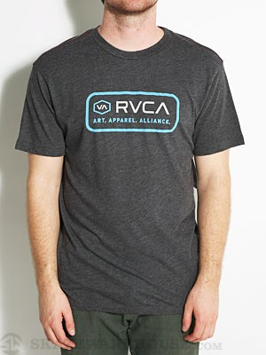 RVCA Unit II Vintage Dye Tee Black XL