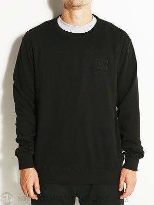 RVCA VA All The Way Crew Sweatshirt Black SM
