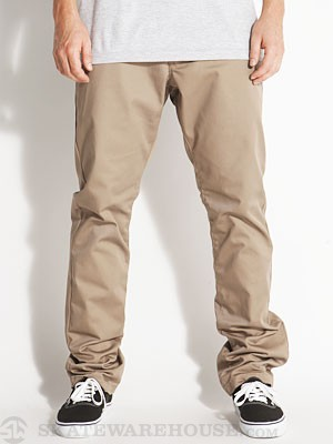 RVCA The Week-End Chino Pants Dark Khaki/DKH 28