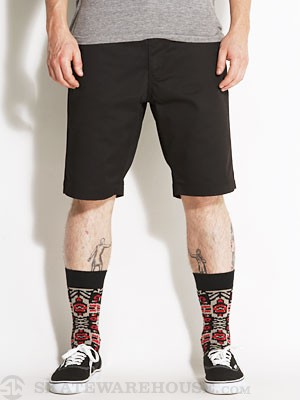 RVCA The Week-End Chino Shorts Black 32