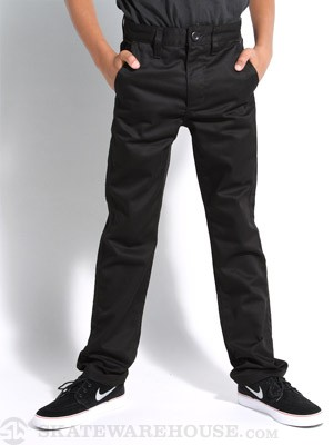 RVCA Kids Weekday Pant Black 22