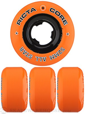 Ricta Chrome Core Orange/Black Wheels