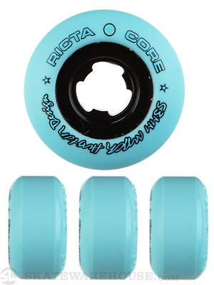 Ricta Huston All Star Teal/Black Chrome Core Wheels
