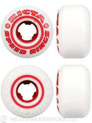 Ricta Speedring Red Wheels 51mm