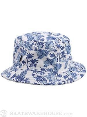 Rook Aloha Bucket Hat White One Size