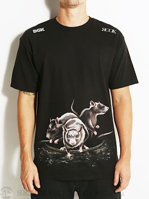 Rook x DGK Beneath The Surface Tee Black MD