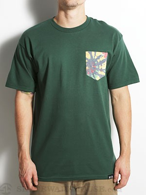 Rook Irie Tie Dye Pocket Tee Forest MD
