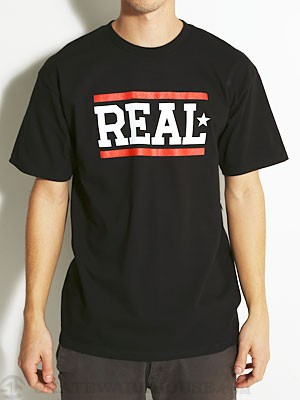 Real Bars Tee Black MD