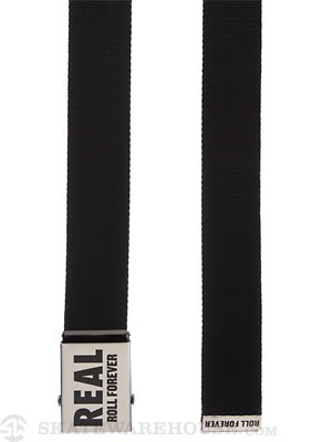 Real Genuine Belt Black Adjustable