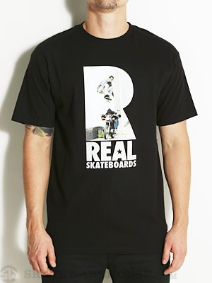 Real Mark Over Max Tee Black SM