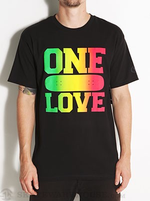 Real One Love Tee Black SM