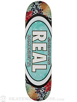 Real Ramondetta Flower Oval Deck  8.5 x 32.18