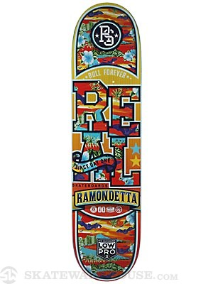 Real Ramondetta Spring Break Low Pro 2 Deck  7.8 x 31.7