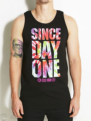 Real SDO II Tie Dye Tank Top Black MD