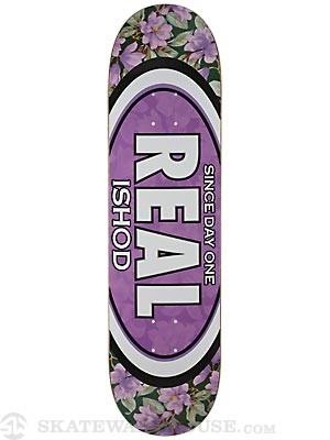 Real Wair Flower Oval Deck  8.3 x 31.87