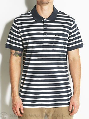 RVCA Addy Polo Shirt Midnight/MID MD