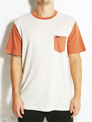 RVCA Change Up Knit Shirt Auburn/AUB MD