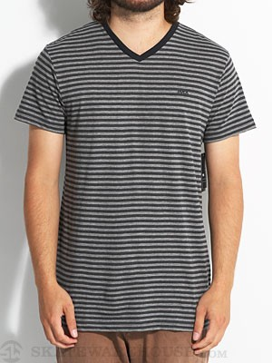 RVCA Grain Knit V-Neck Dark Charcoal XXL