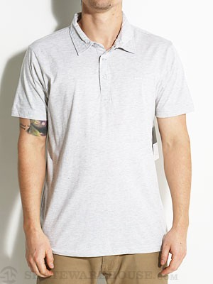 RVCA Sure Thing Polo Shirt Athletic Heather/ATHSM